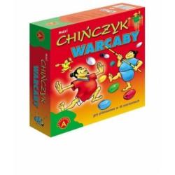 Gra edukacyjna Alexander chińczyk warcaby maxi
