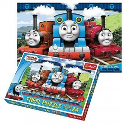 Puzzle Trefl 24 elementy maxi Tomek i Przyjaciele