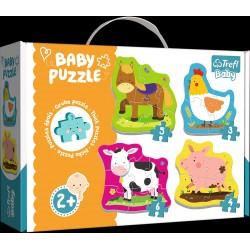 Puzzle Trefl Baby Zwierzęta na wsi