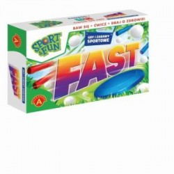 Gra Edukacyjna Alexander Sport & Fun Fast Zabawy Sportowe