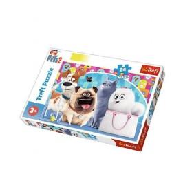 Puzzle Trefl Maxi 24 Wesołe Pupile
