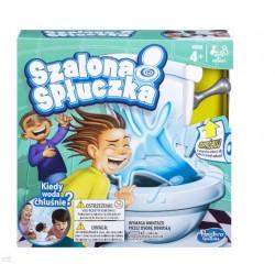 Gra edukacyjna Hasbro  Szalona Spłuczka