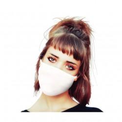 Maska ochronna wielokrotnego użytku z bawełny antybakteryjnej 4szt 20x13cm