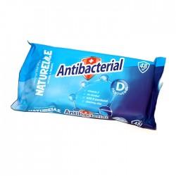 Chusteczki nawilżające Naturelle antybakteryjne z witaminami + alkohol 48szt