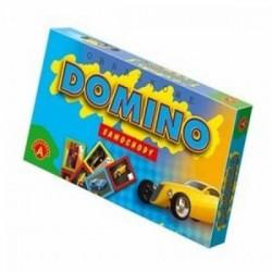 Gra Edukacyjna Alexander Domino SAmochody