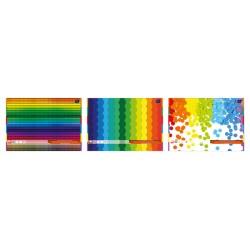 Blok techniczny kolorowyy A3 Interdruk