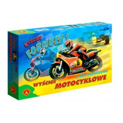 Gra Edukacyjna Alexander Wyścigi Formuły 1 Motocyklowe