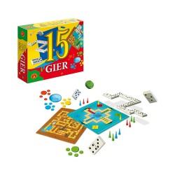 Gra Edukacyjna Aleksander 15 gier