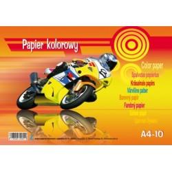 Papier kolorowy A4 10 kartek Kreska