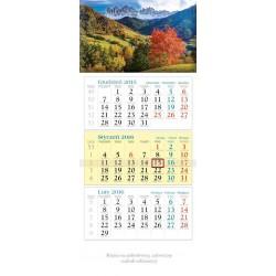 Kalendarz trójdzielny Lucrum mix