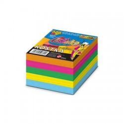 Kostka Neonowa Pastello Klejona 500 kartek
