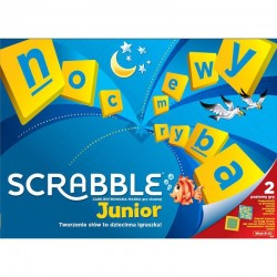 MATTEL GRA SCRABBLE JUNIOR Y9735