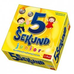 Gra edukacyjna  5 sekund junior Trefl