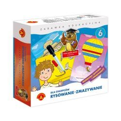 Gra Edukacyjna Alexander Rysowanie-zmazywanie dla Chłopców