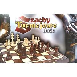 Gra  Edukacyjna Magiera Szachy Drewniane Turniejowe